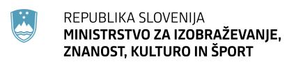 izobraževanje prah, republika slovenija, ministrstvo za izobraževanje